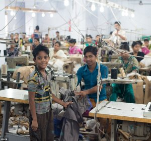 Sweatshops conditions