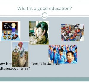 What Is a Good Education?