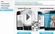 New 123people-Apps Enhance Mobile People Search