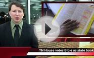 TN House votes to make the Bible the state book