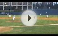 UCSD Tritons baseball - defense with runner on 1st